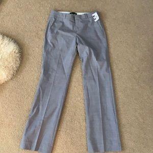 Banana republic Logan wool trouser lined sz 4 Reg